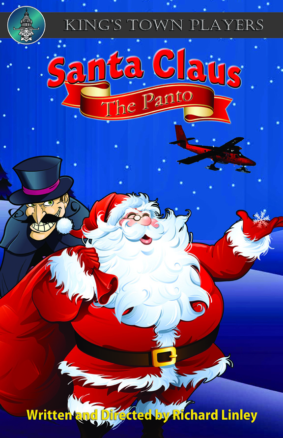 KTP Santa Claus the Panto Poster Small 2